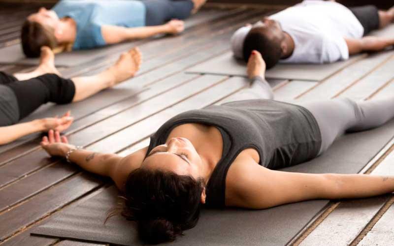 Practica de relajación yoga-nidra