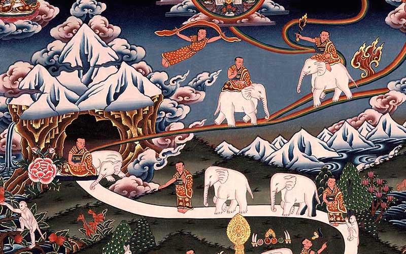 Aprender meditación analítica del camino gradual